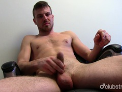 Unshaved straight aaron masturbating videos