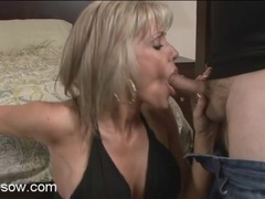 Shaved cunt mom with a tight body sucks cock movies at lingerie-mania.com