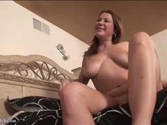 Big boobs curvy girl rides him reverse cowgirl videos