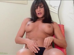 Fit milf mackenzie marie in sensual solo striptease videos
