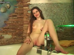 Sexy teen body is all wet in the bathtub movies at kilotop.com