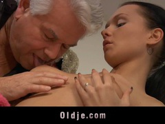 Old dick fucks a young salacious ass movies at sgirls.net