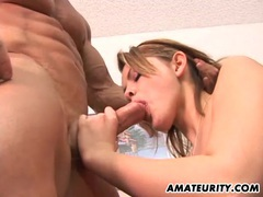 Amateur girlfriend fucked with creampie cumshot movies at kilotop.com
