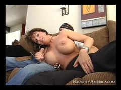 Huge fake tits on milf cocksucker deauxma videos