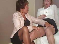 Adventures of an underwear fitter 6, Lesbian, Mature, Nipples, Femdom, MILF, British, Saggy Tits, Big Tits, Underwear, European, Lingeries, Georgie, Cindy, Adventure, Fitter, 60 FPS videos