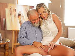 Old4k. enticing blonde easily seduces her old geography teacher…, Old, Seduced, Dad, Old4K, Old Blonde, Ease movies
