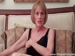 Grandma protests sex with stepson, Amateur, MILF, Old &,  Young, Granny, Cougar, Grandma, Grandma Sex, Stepson, Wicked Sexy Melanie, Sex videos