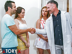 Purgatoryx fertility clinic vol 1 part 1 with lily & skylar, Blonde, Brunette, Hardcore, Pornstar, HD Videos, Medical, Big Natural Tits, Doctor, Small Boobs, Clinic, Skylar, Hood, Asshole Closeup, Vagina Fuck, Head, Lily, Call, Finally, Wait, Leave, C videos