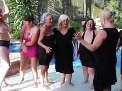 Gilf get-together, Mature, Granny, Striptease, GILF, Hot Grannies movies at kilogirls.com