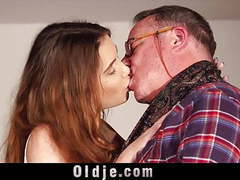 Skinny girl seduces fat old man and he fucks her pussy, Pussy Fucking, Fat Man, Old Men, Girl Seduces, Old Fat, Oldje, Skinny Girl, Fat Old Man, Old Man Seduce movies at find-best-mature.com