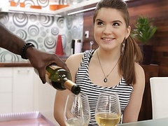 Vip4k. black man fucks the white cutie and it's great, Blowjob, Brunette, Teen (18+), Interracial, HD Videos, Birthday, Big Black Dick, Interracial Sex, Big Cock, BBC, Birthday Sex, Small Boobs, European, Black Man, Czech Sex, Vagina Fuck, Interacia movies at kilovideos.com