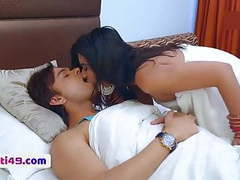 Nude romance on bed – must watch videos