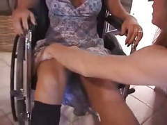 Paraplegic pretender girl, Blonde, Sex Toy, Lesbian, Cosplay, Footjob, Girl Masturbating, Wheelchair, Disable, Mom, Girl, Paraplegic videos
