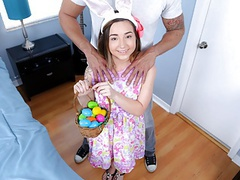 Petite teen fucked by huge cock while easter egg hunting, Blowjob, Brunette, Teen (18+), Interracial, HD Videos, Small Tits, Orgasm, Teen (18+) Sex, Huge Cock, Petite, Big Cock, Petite Teen (18+), Small Boobs, Petite Teenager (18+), Teen (18+) Fucked, Ass videos
