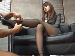 Ass eating makes secretary sumire wet and ready for hard fucking movies
