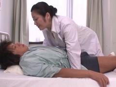Naughty japanese doctor minako komukai enjoys sucking patient's dick movies