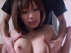 Hairy pussy japanese babe saki asaoka spreads her legs to be fucked movies