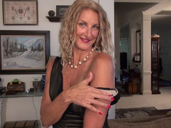 Amateur video of mature slut zoe marks having some dirty fun, Mature movies