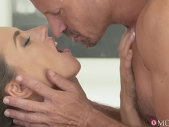 Nice pussy and ass mea melone gives head and gets fucked from behind, Couple, Hardcore, Long Hair, Bra, Pussy Licking, Blowjob, Cowgirl, Hot Ass, Asshole, Natural Tits, Missionary, Doggystyle, Pornstars, Czech movies