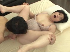 Chubby japanese mature otowa ayako gets fucked good on the bed videos