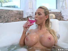 Fake boobs trophy wife nikki benz moans during passionate sex, Couple, Hardcore, Pornstars, MILF, Sport, Shorts, Big Tits, Fake Tits, Long Hair, Bath, Soapy, Massage, Oiled videos