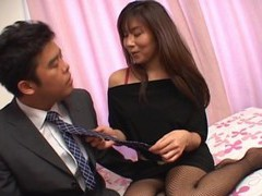 Passionate fucking with fit ass japanese girl yu izawa in stockings videos