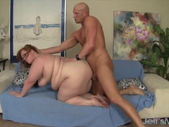 Sexy and hot bbws enjoy their plump pussies getting fucked deep and good with hard dicks in gy style, BBW videos