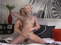Blondie katy rose spreads her legs to be fucked by an older guy, Couple, Hardcore, Bra, Shorts, Pussy Licking, Fingering, Panties, Blowjob, Doggystyle, Natural Tits, Cowgirl, Pussy, Shaved Pussy, Missionary movies at freekilomovies.com