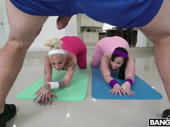 Ffm threesome after yoga session with virgo peridot & alexis andrews, Threesome, FFM, Hardcore, Pornstars, MILF, Sport, Asshole, Pussy, Blowjob, Doggystyle, Pussy Licking, Cowgirl, Clothed Sex, Big Cocks videos
