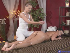 Busty amateur cynthia hill massaged and pleased by alexis crystal, Lesbian, Czech, Babes, Massage, Oiled, Natural Tits, Hot Ass, Fingering, Pussy videos