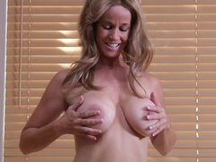 Mature chick totally tabitha loves stripping and fingering, Mature videos