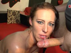 Extreme hardcore creampie german gangbang, Hardcore, Gangbang, German, Blowjob, Tattoo, Pussy, Shaved Pussy, Handjob, Cum In Mouth, Cumshot, Missionary, Lingerie, Stockings, Fishnet, Natural Tits videos