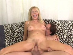 Cock hungry old women taking hard dicks in their pussy enjoy fucking in cowgirl positions, Mature videos