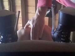 Sexy slave girl with a mask and high heels gets fucked balls deep, BDSM, Fetish, Slave movies at find-best-videos.com