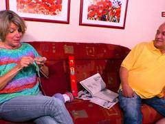 German mature gandma seduced grandpa, Mature, German, Granny videos