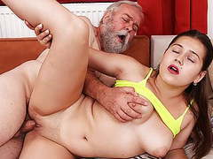 First sex with grandpa, Amateur, Old &,  Young, Czech, HD Videos, 18 Year Old, Big Natural Tits, Titty Fucking, Rough Sex, Chubby Teen (18+), Tight Pussy, Rough Fucking, First, Gets Fucked, Brutal Sex, Oculus Sex VR, Sex, First Sex, Fuck Grandpa, Grand movies at freekiloporn.com