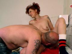 German redhead skinny mature mom fuck, Mature, German videos