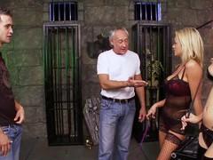 Paige ashley latex fourway hot blonde girlfrien, Foursome, Group Sex, Hardcore, Pornstars, Lingerie videos