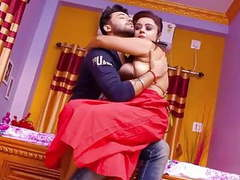 Red saree bhabhi has hardcore sex with boss while husband is not at hom movies at find-best-videos.com