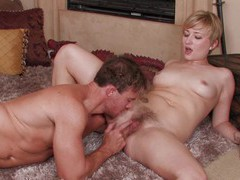 Naughty nora skyy makes a big cock disappear in her hairy pussy, Couple, Hardcore, Short Hair, Blondes, Thong, Pussy, Hairy, Fingering, Missionary, Doggystyle, Asshole, Natural Tits movies at find-best-videos.com