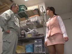 Brunette miyuki matsushita loves jerking a dick with her boobs movies at kilovideos.com
