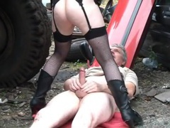 Hardcore outdoors fucking with cum loving stranger katie. hd, Couple, Hardcore, Outdoor, British, Blowjob, Cowgirl, Lingerie, Stockings, Fishnet, Ball Licking, Small Tits, Pussy, Shaved Pussy, Reality movies at kilovideos.com