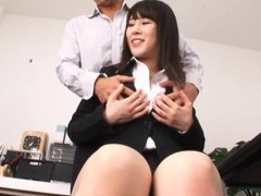Kitagawa yuzu gets talked into bouncing on a friend's hard dick movies at find-best-mature.com