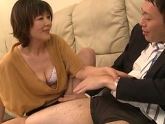 Smoking hot enshiro hitomi gets talked into sucking on a cock movies at find-best-mature.com