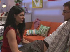Brunette girl india summer has fun with a long cock on the couch, Couple, Hardcore, Pornstars, MILF, Brunettes, Long Hair, Handjob, Blowjob, Natural Tits, Ball Licking movies
