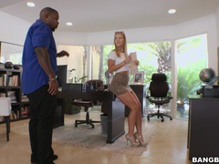 Interracial fucking with hot ass blondie candice dare on the sofa, Couple, Hardcore, Long Hair, Miniskirt, Interracial, Pussy Licking, Natural Tits, Blowjob, Big Black Cock, Big Cocks, Asshole, Pussy, Doggystyle videos