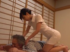 Fit japanese girl gives a massage and gets fucked by an older man movies at find-best-videos.com