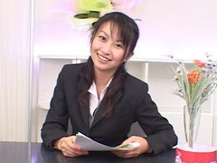 Passionate fucking in the office with cute japanese girl rei itoh videos