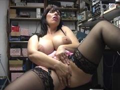 Chubby solo girl josephine james moans while masturbating, Solo Models, Masturbation, British, Pornstars, Brunettes, MILF, Lingerie, Stockings, Nylon, Big Tits, Natural Tits, Pussy, High Heels videos