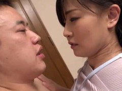 Japanese cutie gives a handjob and grinds on his stiff cock videos